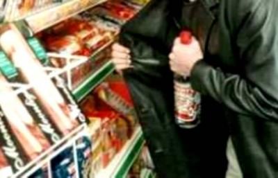 Българин хванат да краде алкохол в Комотини