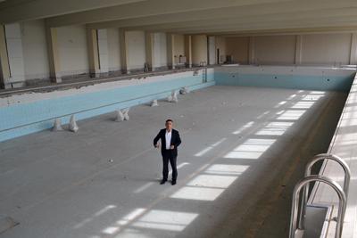 Закритият плувен басейн ще заработи до Нова година